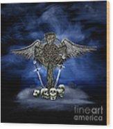 Heaven And War Wood Print