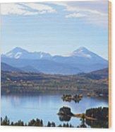 Heaven Wood Print by Jimi Bush