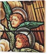 Heavenly Angels Wood Print