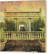 Heavenly Gardens Wood Print