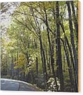 Heavenly Highway Wood Print
