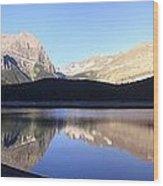 Heavenly Hike - Kananaskis Lakes, Alberta Wood Print