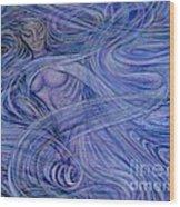 Heavenly Hostess IIl Wood Print by Jacquelyn Roberts
