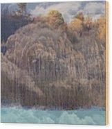 Heavenly  Landscape Wood Print