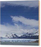 Heavenly Perito Moreno Glacier Wood Print
