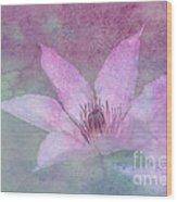 Heavenly Petals Wood Print