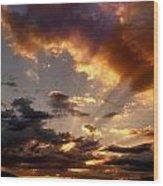 Heavenly Rapture Wood Print