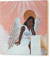 Heavenly Soul Wood Print