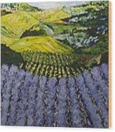 Heavenly Valley Wood Print
