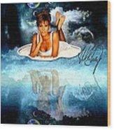 Heavenly Whitney - A Tribute Wood Print