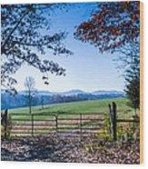 Heavens Gate 1st In Series Wood Print by Paul Herrmann