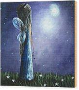 Heaven's Little Helper By Shawna Erback Wood Print