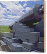 Heavy Artillery Wood Print