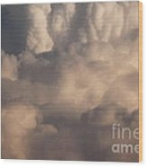 Heavy Clouds Wood Print