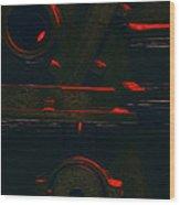 Heavy Metal Wood Print
