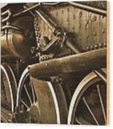 Heavy Steel Wood Print