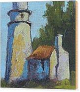 Heceta Head Light - Oregon Landscape Wood Print