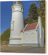 Heceta Head Lighthouse 1 C Wood Print