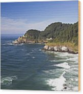Heceta Head Lighthouse 2 A Wood Print