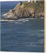 Heceta Head Lighthouse 2 D Wood Print