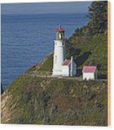Heceta Head Lighthouse 2 G Wood Print