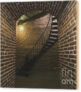 Heceta Head Lighthouse Interior 1 Wood Print