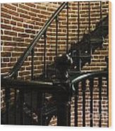 Heceta Head Lighthouse Interior 2 Wood Print
