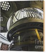 Heceta Head Lighthouse Interior 3 Wood Print