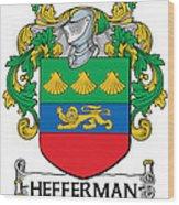 Hefferman Coat Of Arms Irish Wood Print