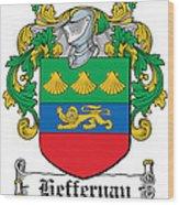 Heffernan Coat Of Arms Irish Wood Print