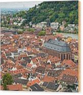 Heidelberg Deutschland Germany Wood Print