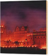 Heidelberg Red Castle Wood Print