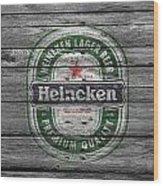 Heineken Wood Print