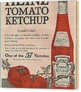 Heinz 1910s Usa Wood Print