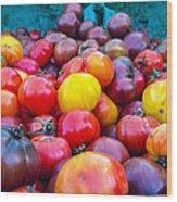 Heirloom Tomatoes V. 2.0 Wood Print