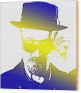 Heisenberg-3 Wood Print