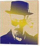 Heisenberg - 4 Wood Print