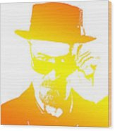 Heisenberg - 5 Wood Print