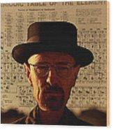 Heisenberg Wood Print