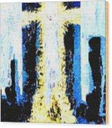 Held Before 9-11 Hope Wood Print