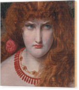 Helen Of Troy Wood Print