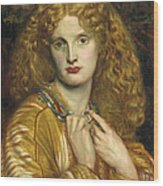 Helen Of Troy Wood Print by Philip Ralley