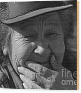 Helen The Grandmother Of Kapka Wood Print