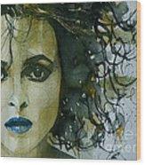Helena Bonham Carter Wood Print
