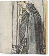 Helena, Illustration From Midsummer Wood Print