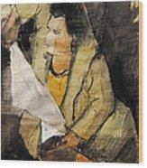 Helene #12 - Figure Series Wood Print