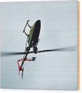 Helicopter 4 Wood Print