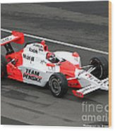 Helio Castroneves Indy Wood Print