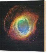 Helix Nebula 2 Wood Print