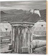 Hellisheidi Power Station Well Wood Print